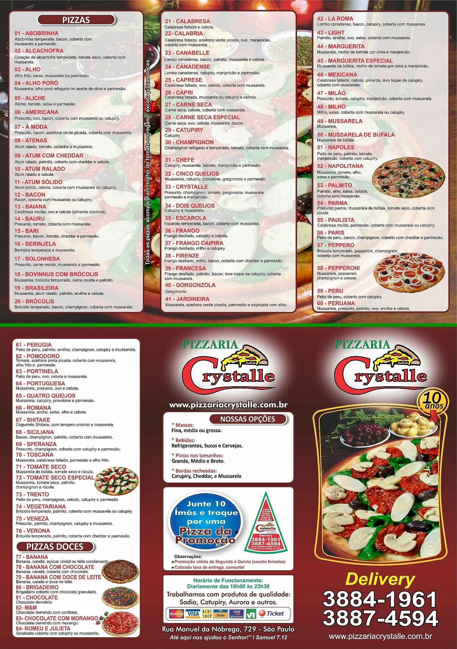 Crystalle Pizzaria